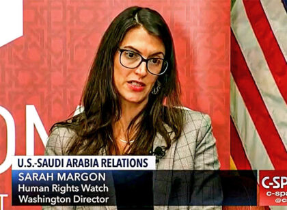 Biden Picks Soros BDS Activist Sarah Margon as Asst Secretary For Human Rights
