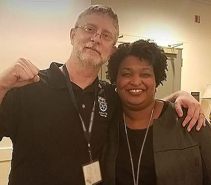 Eric Robertson, Stacey Abrams
